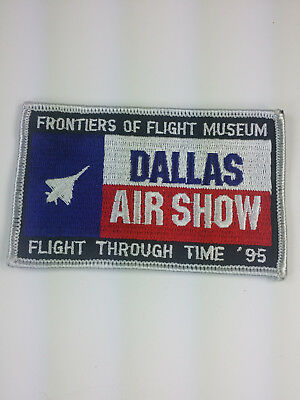 1995 Dallas Texas Air Show Patch Frontiers of Flight Museum Love Field