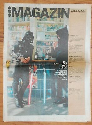 Feuilleton-Seite 2002 Star-Wars und George Lucas - newspaper documentation StWa