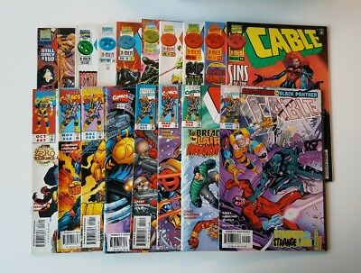 Marvel Comics: Cable issues 26 to 54 (1995 -98) RARE feat Black Panther