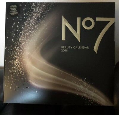 Boots No7 Beauty Advent Calendar 2018 **Sold out in shops**Brand new unopened**