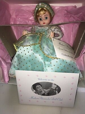 Vintage Madame Alexander Cinderella's Gown In Box 140476 USA