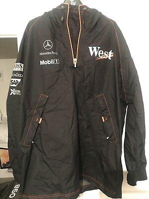 McLaren Mercedes F1 West Wet Weather Lightweight Jacket - XL
