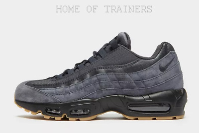 separation shoes 1c630 55a81 Nike Air Max 95 SE Black Men s Trainers All Sizes Available