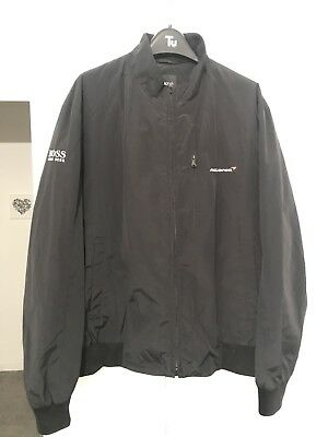 McLaren Mercedes F1 Team Issue Boss Travel Jacket - Black - L