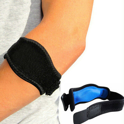 Tennis Elbow Support Brace Sleeve Golfer's Strap Epicondylitis Clasp Lateral S