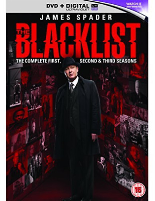 The Blacklist: The Complete First, Second & Third Seasons ( DVD )