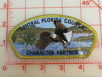 Central Florida Council CSP Character Partner gmy border   patch (oQ)