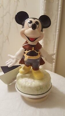 Mickey mouse Schmid music box