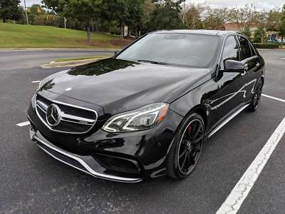 2016 Mercedes-Benz E-Class E63 AMG 4MATIC S-Model Sedan 2016 Mercedes-Benz E-Class E63 AMG 4MATIC S-Model Sedan