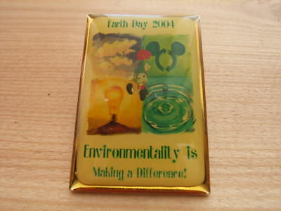Jiminy Cricket Earth Day 2004 Pin LE 1500 Cast Exclusive Mickey Ears Recycle