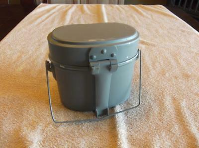 WWII style German Aluminum mess kit 3 piece Camping hiking hunting
