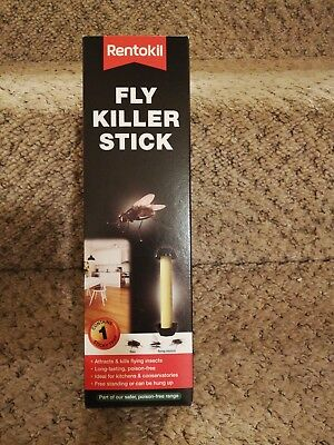 Rentokil Fly & insect Killer Stick. Poison free. Long lasting. Kitchen. Home
