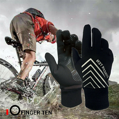Winter Cycling Gloves Thermal Insulated Bike Running Sports Windproof Mitts US