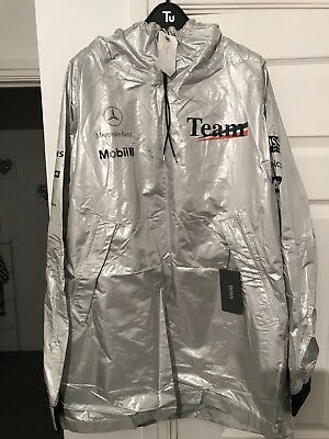 McLaren Mercedes F1 Team Issue Lightweight Wet Weather Boss Jacket - 'Team' XL