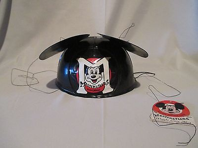 VINTAGE DISNEY MICKEY Mouse Wiggle Ears Hat 1950s Mouseketeer VERY RARE
