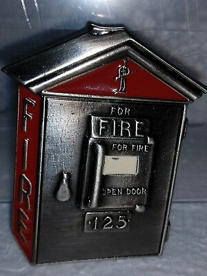 NEW Fire Pull-Box Belt Buckle Fireman For Wearers or Collectors