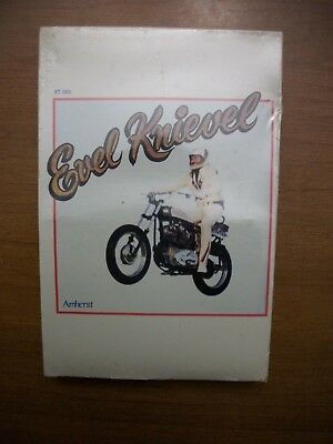 Rare Evel Knievel 8-Track Sealed Amhurst Interview  New