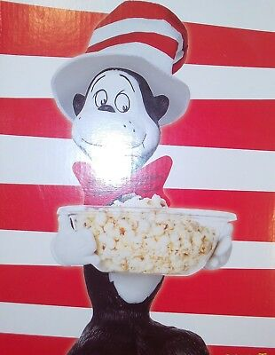 Dr. Seuss Cat In The Hat Halloween Candy Bowl Greeter RARE MIB $58