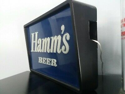 Bad Ass! vintage hamms lighted beer sign
