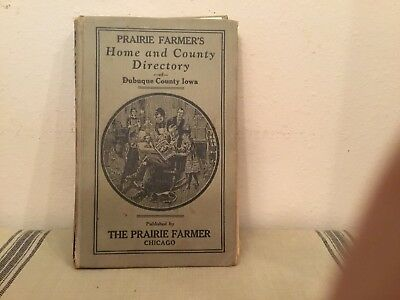 1924 Home And County Directory Dubuque County Iowa
