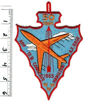 BOY SCOUTS OA Conclave AREA 12B 1965 Section BSA BACK PATCH BADGE