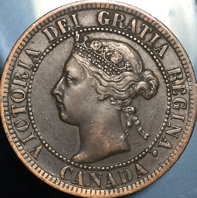 1897 CANADA LARGE 1 CENT PENNY - Great penny in Great Condition!