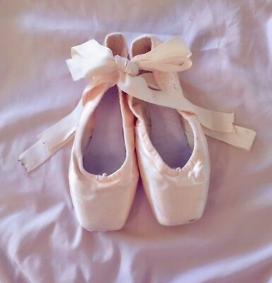 Worn pointe shoes - perfect for decorations and crafts!