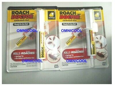 Roach Doctor - Cockroach Bait Gel 1 Tube, GENUINE USA, Not a Fake China Knockoff