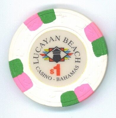 Lucayan Beach Casino Bahamas $1 chip
