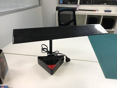 Retro 80s AWESOME Desk Lamp - Black and Red like Knight Rider