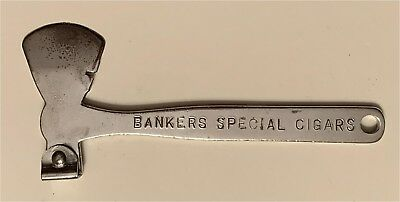 1910s Bankers Special Cigars Franklin & Co Chicago IL Cigar Box Opener CBO-HT-06