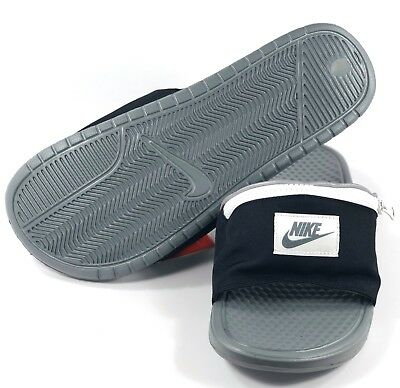 73b995ac0974 Nike Benassi JDI Fanny Pack Black Cool Grey Summit White AO1037-001 Men s 10 -