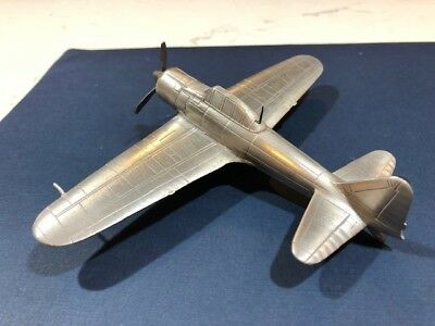 Solid Pewter, Diecast, A6M2 Zero Type 21, IJN WW2 naval fighter, Danbury Mint