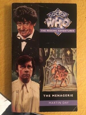 Doctor Who The Missing Adventures The Menagerie Book Troughton