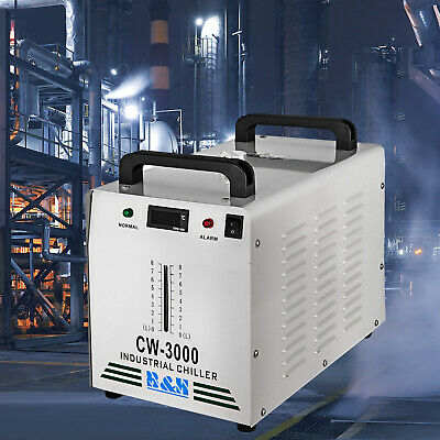 Cw-3000 Industrial Water Chiller Thermolysis Type Spindle Cooling Dissipate Heat