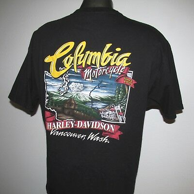 HARLEY DAVIDSON Columbia Motorcycle T-SHIRT XL VANCOUVER Washington I GOT MINE