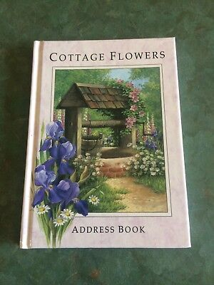 "Victoria Avenue ""Cottage Flowers"" Address Book"