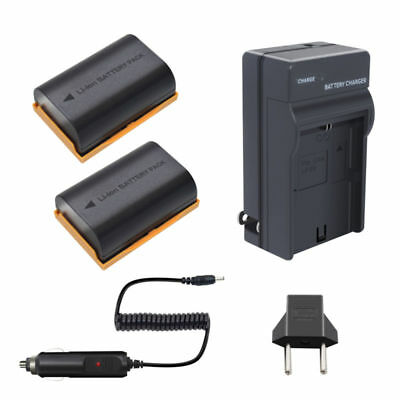Sale 2X LP-E6 Battery + Charger  fit Canon EOS 70D  EOS 5D Mark II III I China