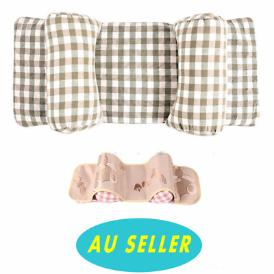 AU SELLER Infant Baby Pillow Adjustable Positioner Prevent Flat Head Anti Roll