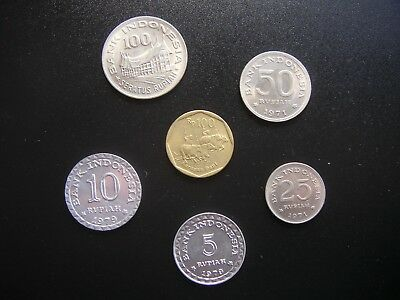 Indonesia Set of Superseded Coins