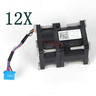 12pcs SERVER COOLING FAN For Dell HR6C0 PowerEdge R320 R420 DP/N0HR6C0