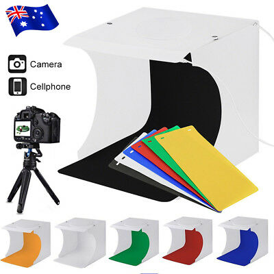 Photo Studio Light Room Photography USB LED Lighting Tent Backdrop Box