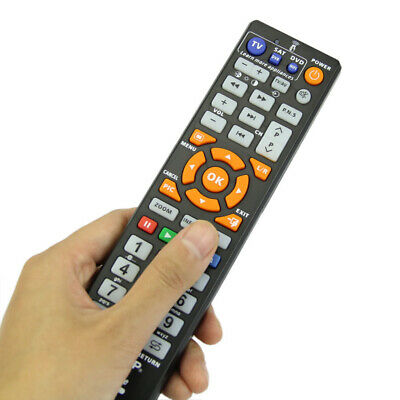 Universal Remote Control Controller + Learn Function For Smart TV CBL DVD SAT