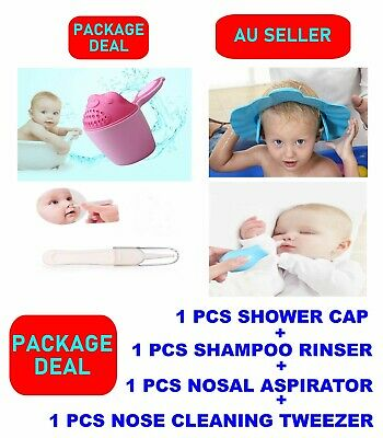 Kids Baby Wash Hair  Bath Shampoo Rinser Cup Bathing Flusher Eyes Protection
