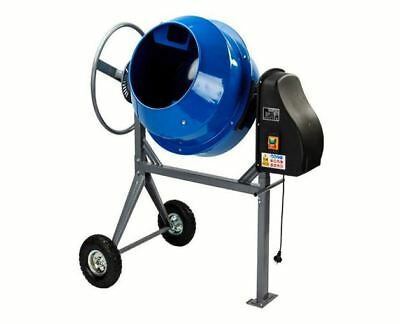 Baumr-Ag 70L Portable Electric Cement Mixer Reliable No-Jam Gearing Motor 220W