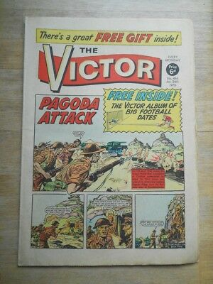 Victor comic #466 from 1970 - no free gift (useful if you have it...)