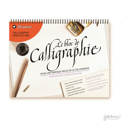 Brause Wirebound Calligraphy Practice Pad