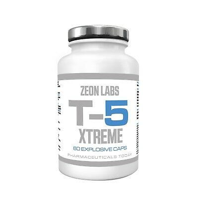 💥zeon Labs T5 Xtreme Fat Burners 💥 Very Strong 💥 Metablack Original - Eca 💥