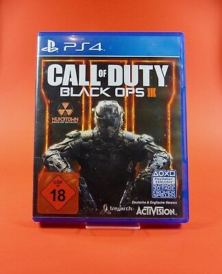 Call of Duty : Black Ops III 3 - PlayStation 4 - PS4 Spiel - USK Version