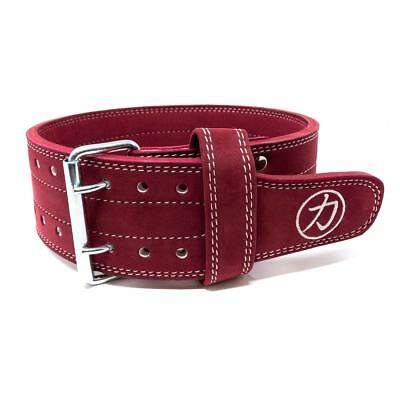 Strength Shop 10mm Double Prong Buckle Belt - Plum - IPF APPROVED FROM 2019
